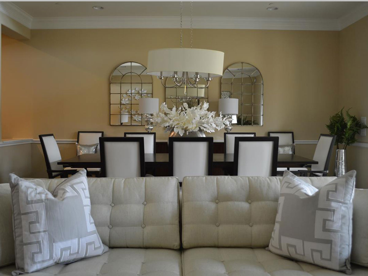 Living Dining White Square